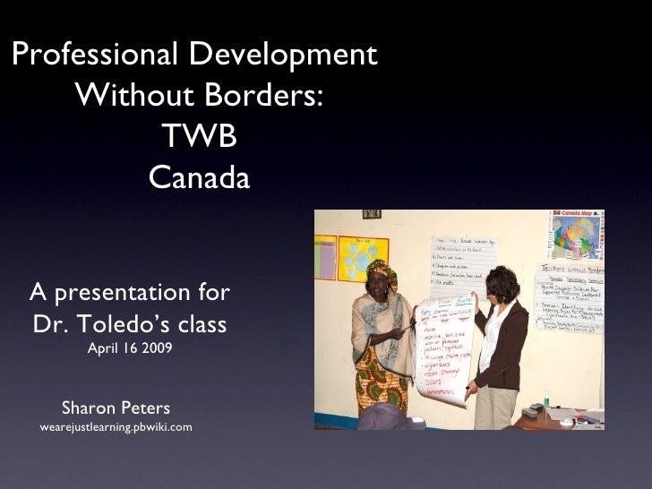 TWB - Canada presentation