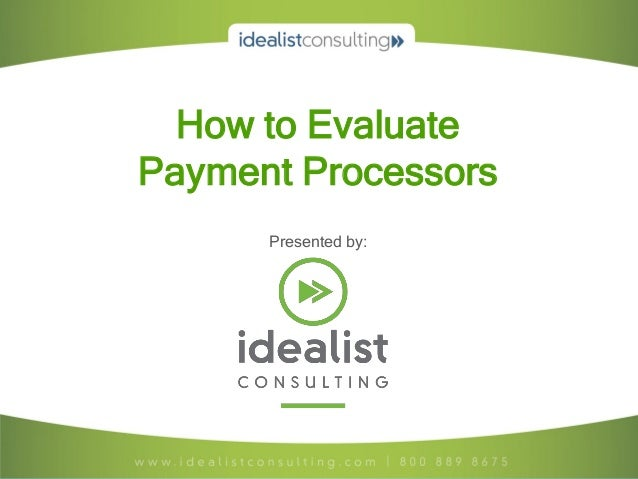 Evaluating Online Donation and Payment Processors for Nonprofits (Feb. 2013, PDXTech4Good.org)