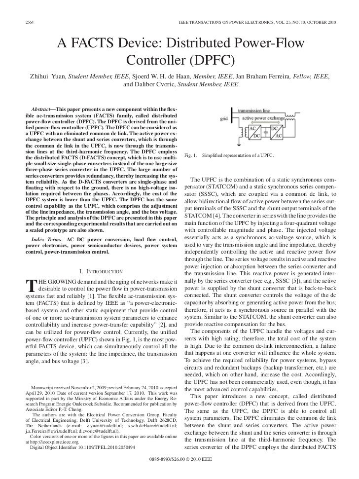 2564                                                                                IEEE TRANSACTIONS ON POWER ELECTRONICS...