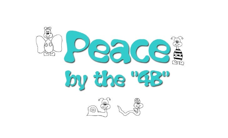 4B for Peace