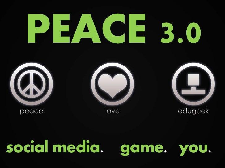 Peace 3.0