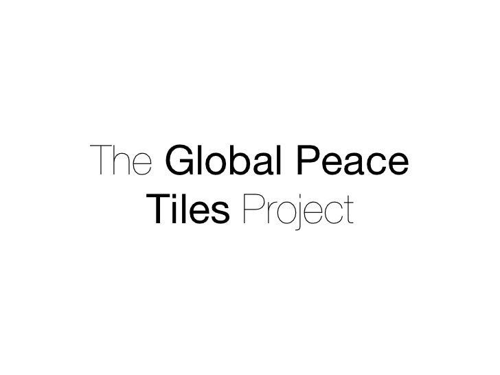 PeaceTiles Pitch