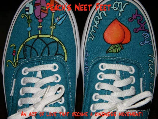 Peach's Neet Feet An act of love that became a kindness movement! https://www.facebook.com/PeachsNeetFeet?fref=ts