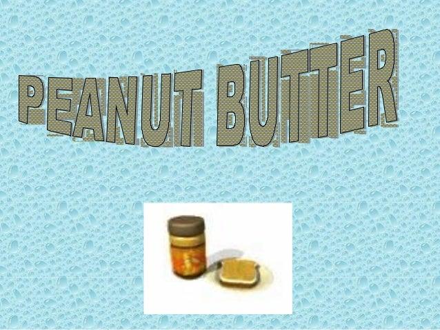 Peanut Butter Lidi