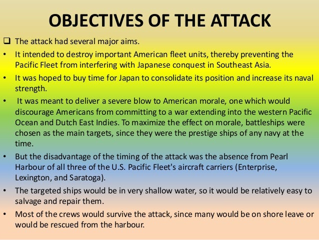 causes of pearl harbor The attack on pearl harbor is one of the most notorious military operations in history, and proved to be extremely influential in deciding the ultimate fate of the.