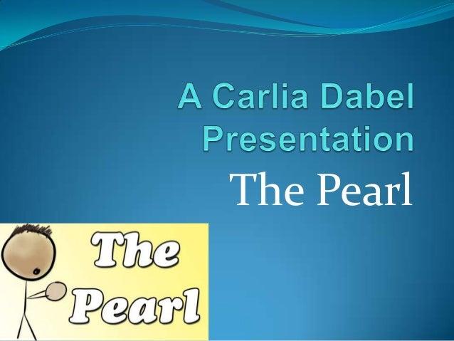 Pearl presentation