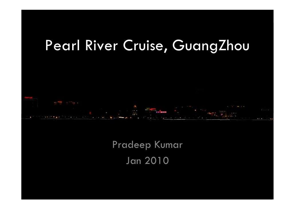 Pearl river cruise, GuangZhou, a photodocumentary by npkumar