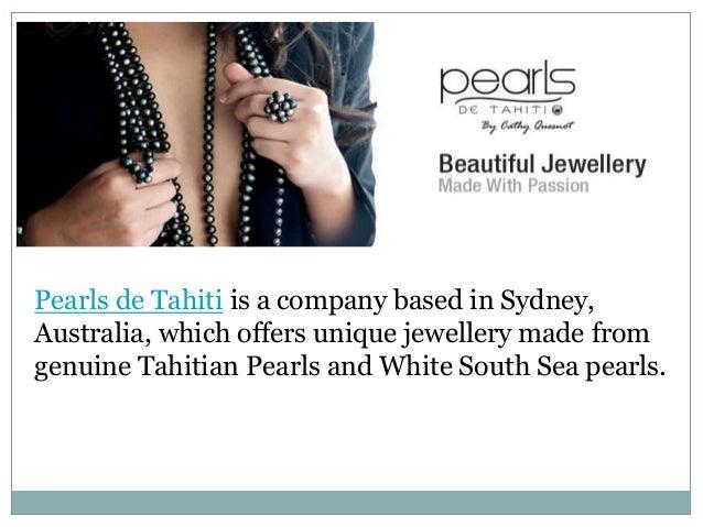Black Pearl | Tahitian Black Pearls