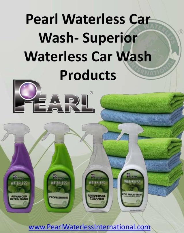 pearl waterless car wash superior waterless car wash products. Black Bedroom Furniture Sets. Home Design Ideas