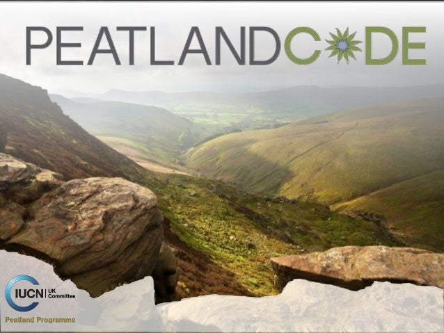  The voluntary standard for peatland restoration projects in the UK that want to be sponsored on the basis of their clima...