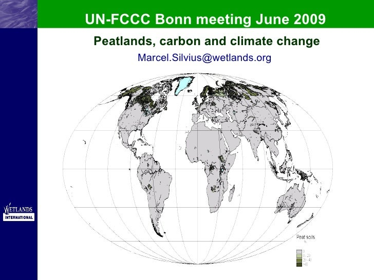 UN-FCCC Bonn meeting June 2009 Peatlands, carbon and climate change [email_address]