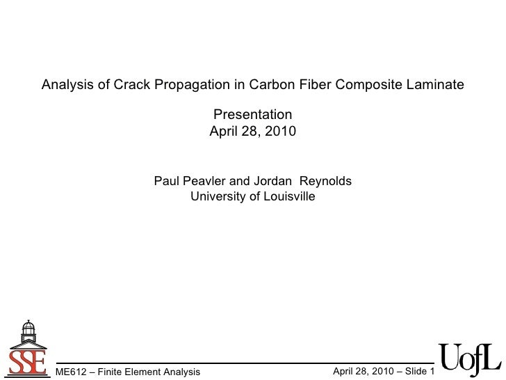 FEA analysis of carbon fiber failure
