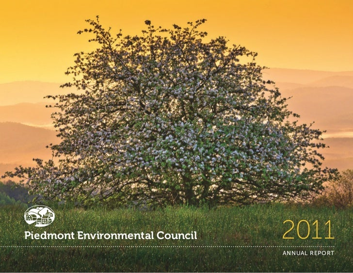 Piedmont Environmental Council   2011                                 ANNUAL REPORT