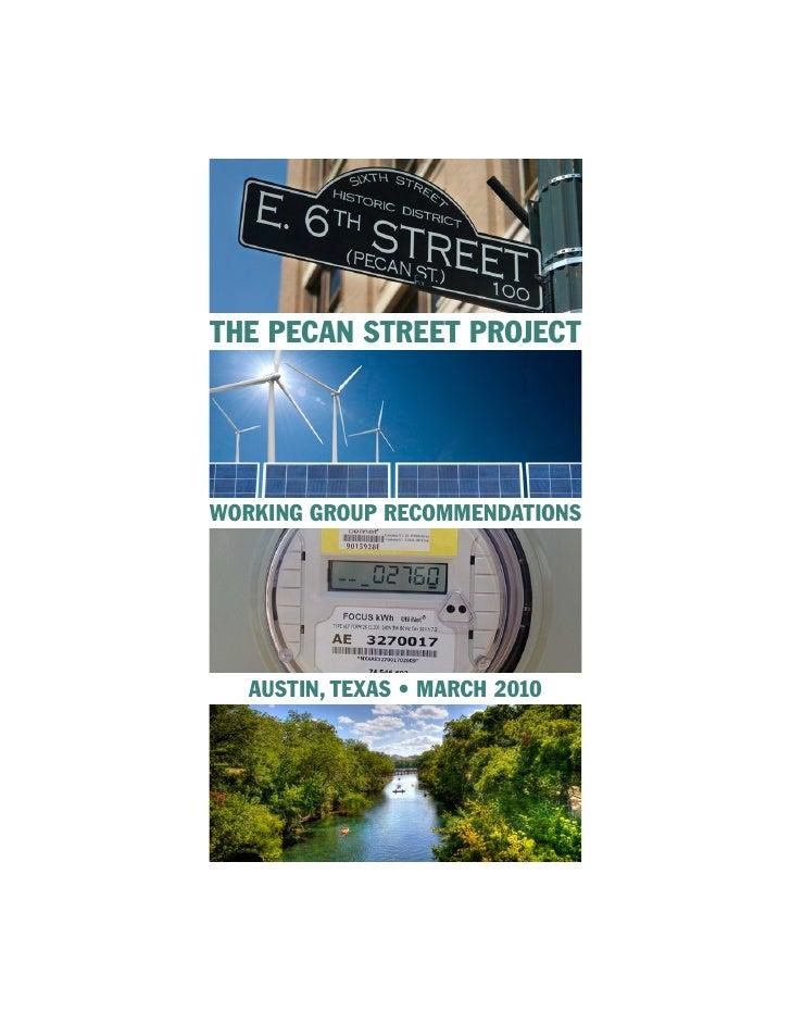 Pecan Street Final Report March 2010