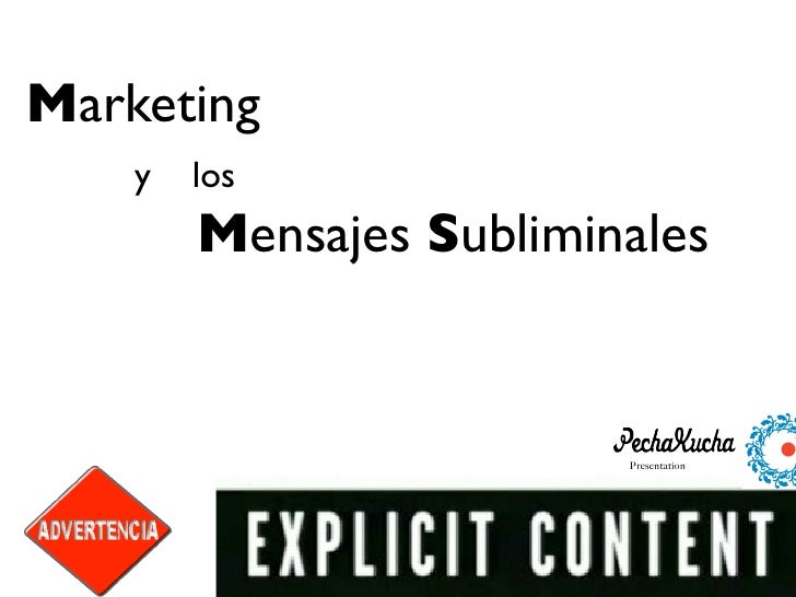 Marketing and Subliminal Advertising