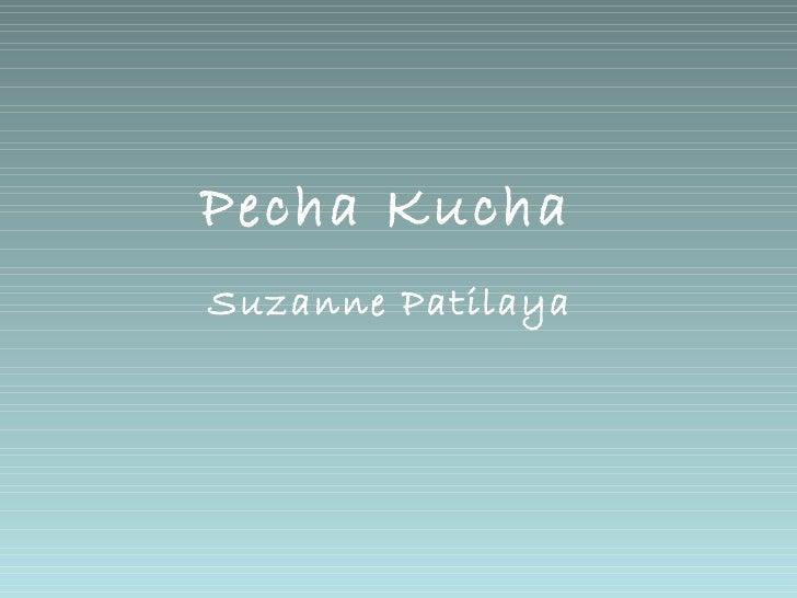 Pecha Kucha Subcultuur - Suzanne
