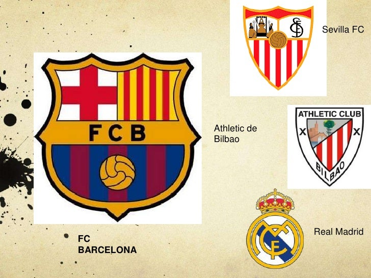 Sevilla FC<br />Athletic de Bilbao<br />Real Madrid<br />FC BARCELONA<br />
