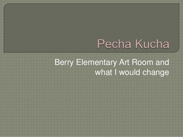 Berry Elementary Art Room and what I would change