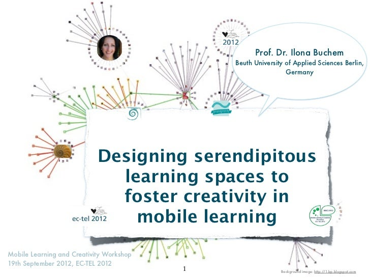 Designing serendipitous learning spaces to foster creativity