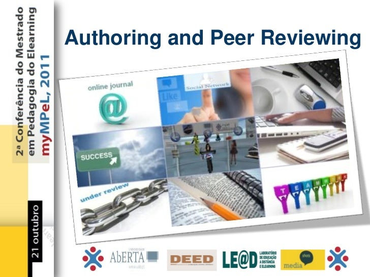 Authoring and Peer Reviewing