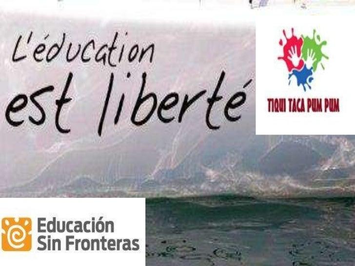 Pechakucha Educación Sin Fronteras