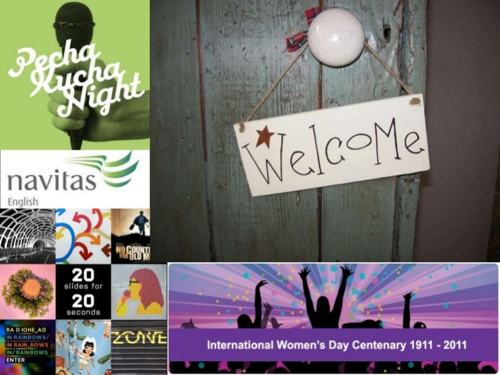Pecha Kucha for Women's Day