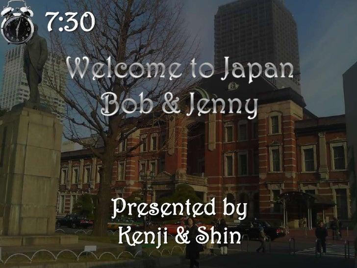 Shin & Kenji Pecha kucha