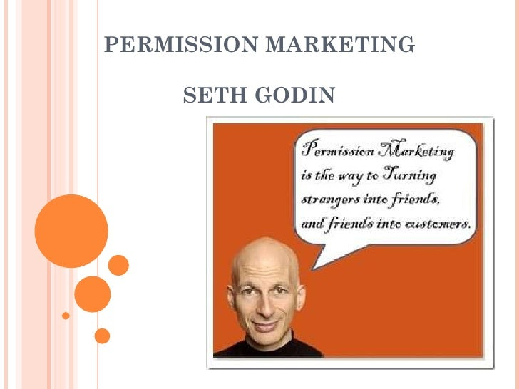 how to get permission to send email seth godin