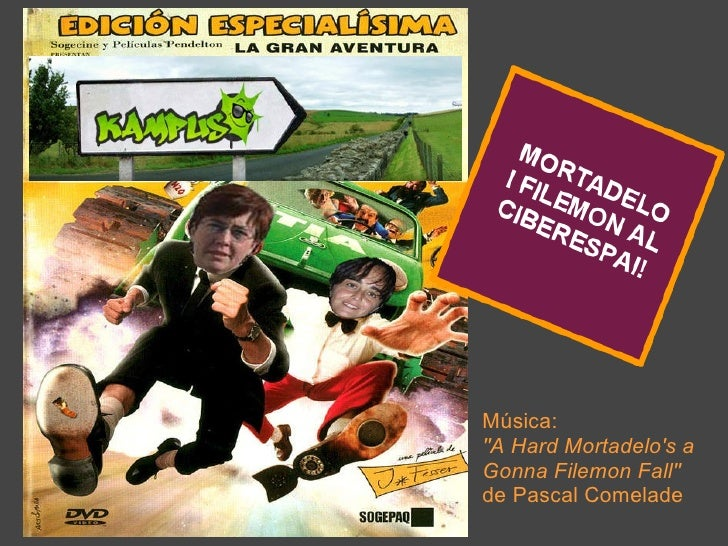 "Música: ""A Hard Mortadelo's a Gonna Filemon Fall"" de   Pascal Comelade"