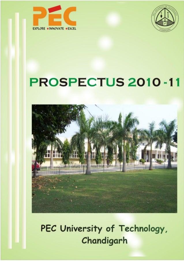 Pec prospectus 2010 11