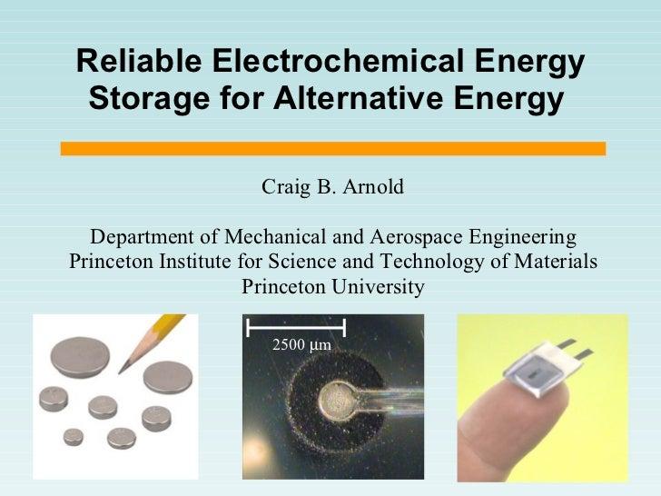 PECS Talk -- Batteries