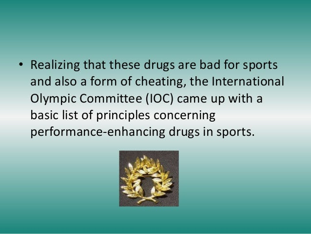 performance enhancing drugs in sports Our question this week: should performance-enhancing drugs be allowed in sports let us know by email or in the comments below have you ever reached for that extra cup of coffee to get through a grueling workday.