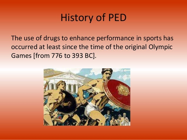 The use of performance enhancing drugs in sports essay