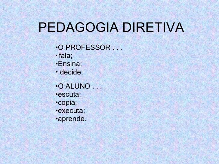 Pedagogia Diretiva