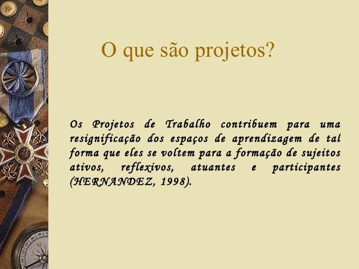 Curso projetos