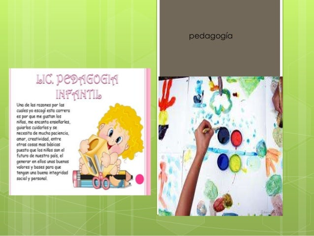 p e d a g o g í a pedagogía