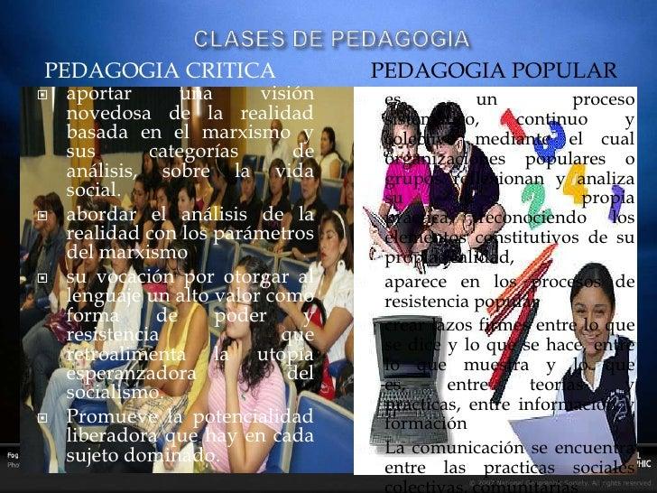Pedagogia Trabajo