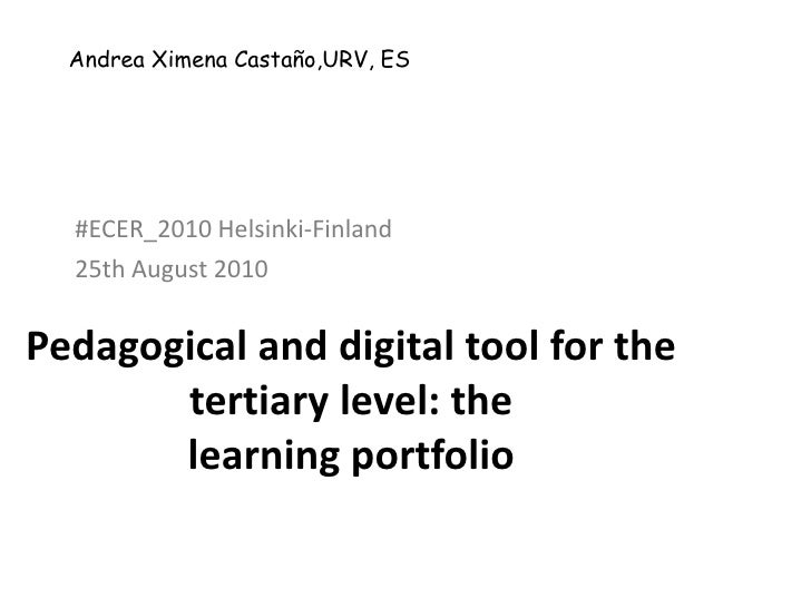 Pedagogical and digital tool for the tertiary level