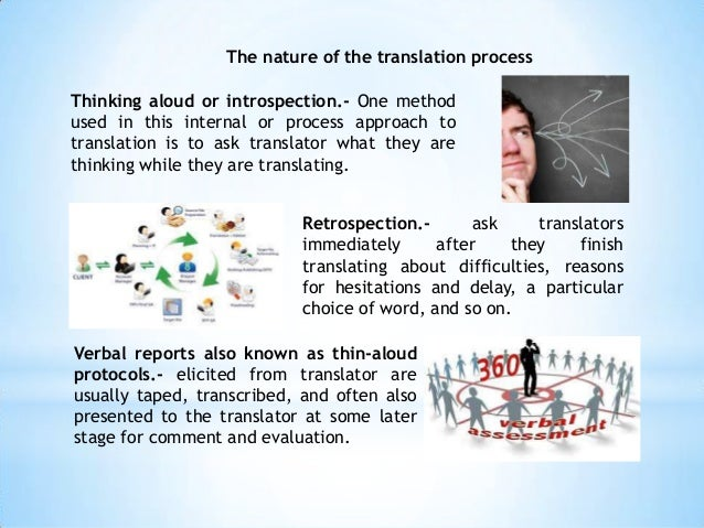 Nature of translation