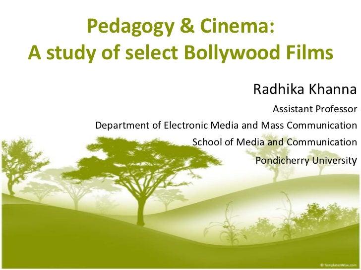 Pedagogy & cinema