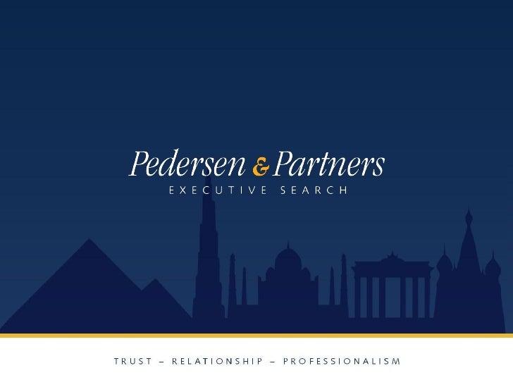 Pedersen & Partners Presentation (Short)