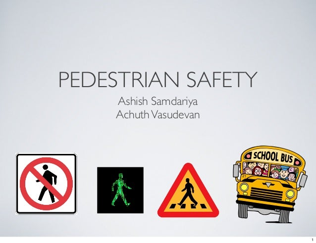 Pedestrian safety, India