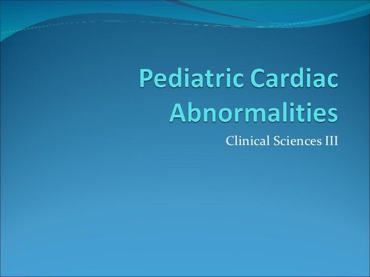 Pediatric%20 cardiac%20abnormalities[1]
