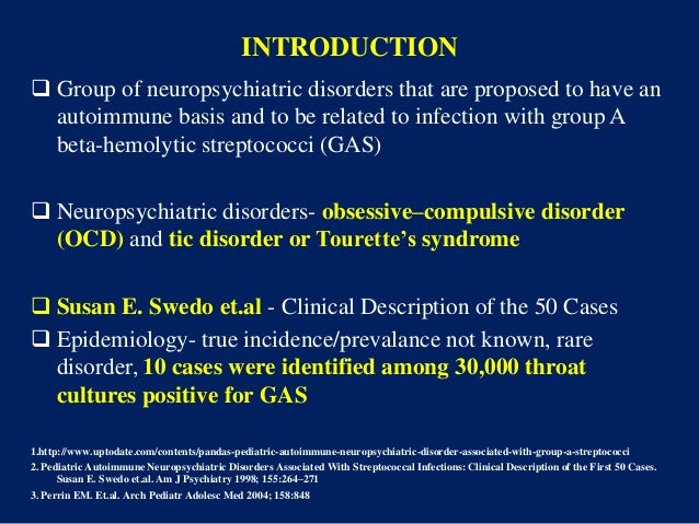 the clinical description of the inherited brain disorder tourette syndrome