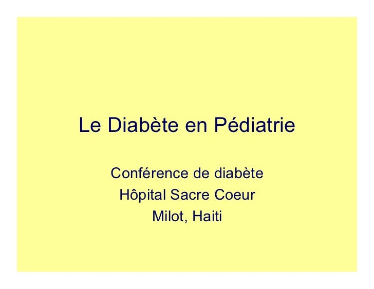 pedatric diabetes