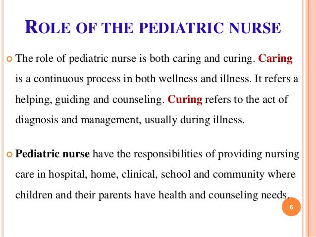 role of a childrens nurse School nurses will play a bigger and more important role in  school nurses to play a bigger role in improving children's health  national school nurse.
