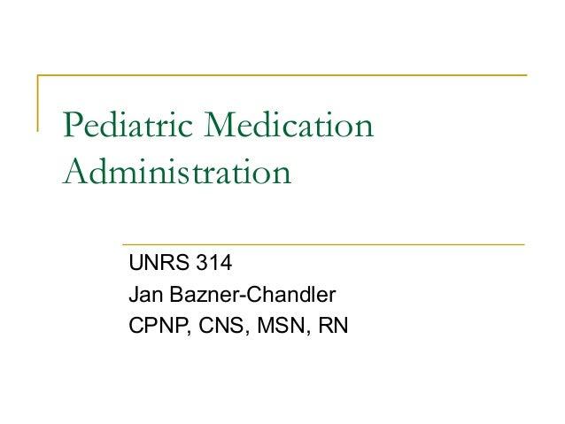 Pediatric pharmacology07ppt