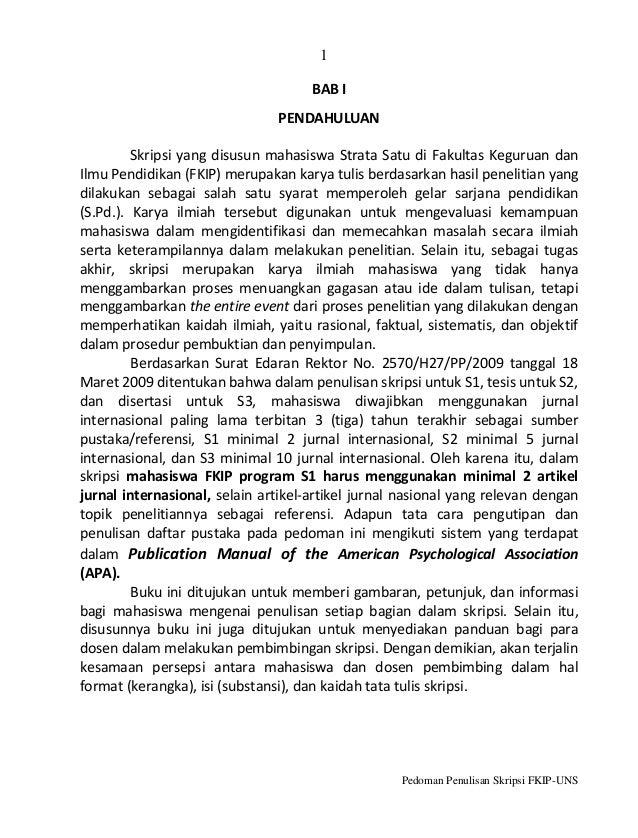 Penulisan tesis bab 1
