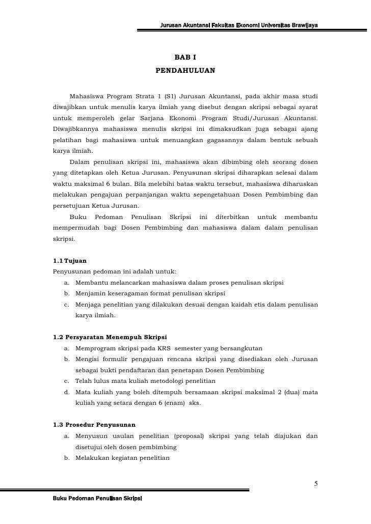 Contoh Abstrak Skripsi Ekonomi Akuntansi Bendera Seo