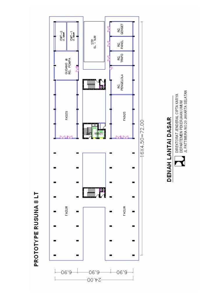 pedoman teknis pembangunan rumah susun sederhana